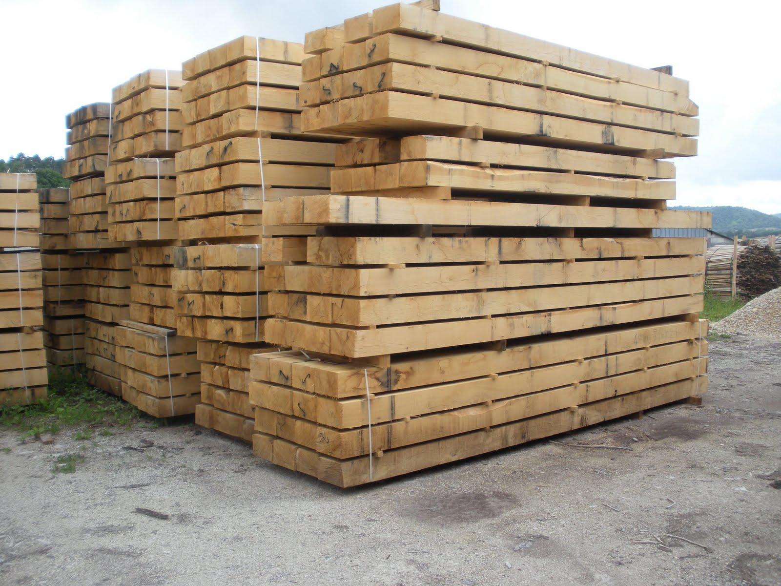 Traviesas de roble maderas garc a varona - Traviesas de madera ...