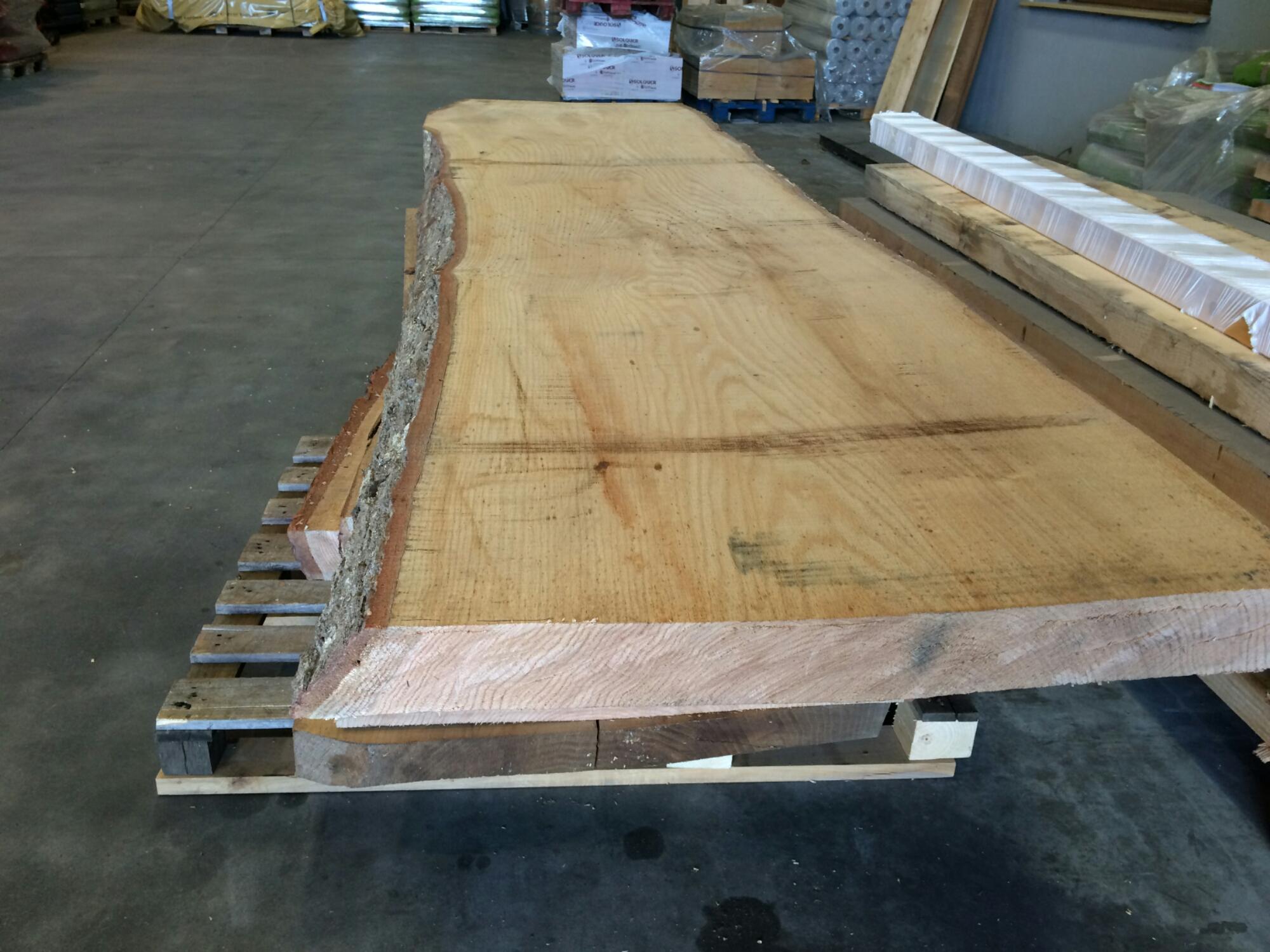 Mesas de madera de roble maderas garc a varona - Tablones de roble ...