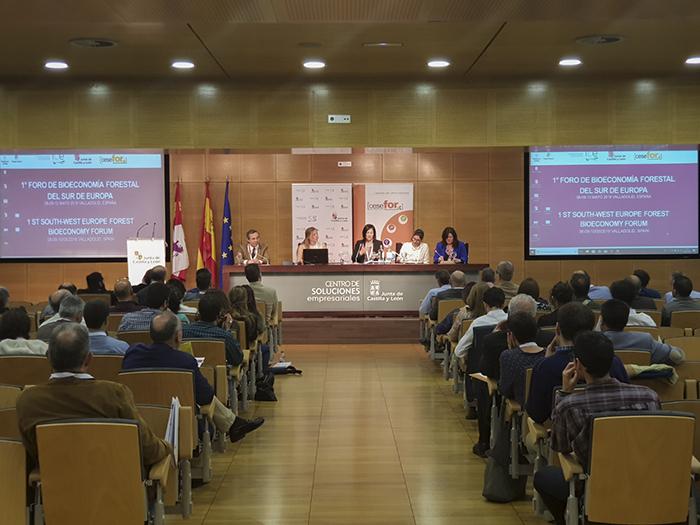 I foro bioeconomia forestal - Valladolid mayo 2018
