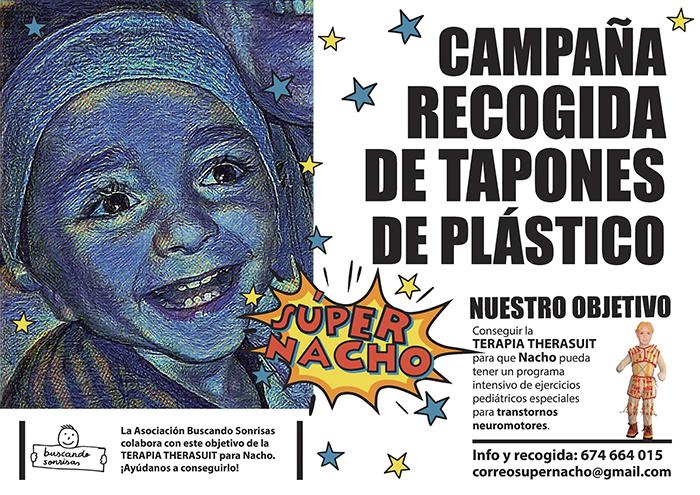 SuperNacho - Vioño - Tapones solidarios