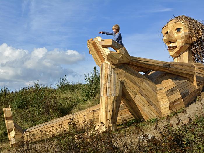 Thomas Dambo - The Six forgotten giants - Hill Top Trine