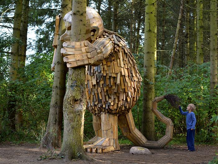Thomas Dambo - The Six forgotten giants - Little Tilde