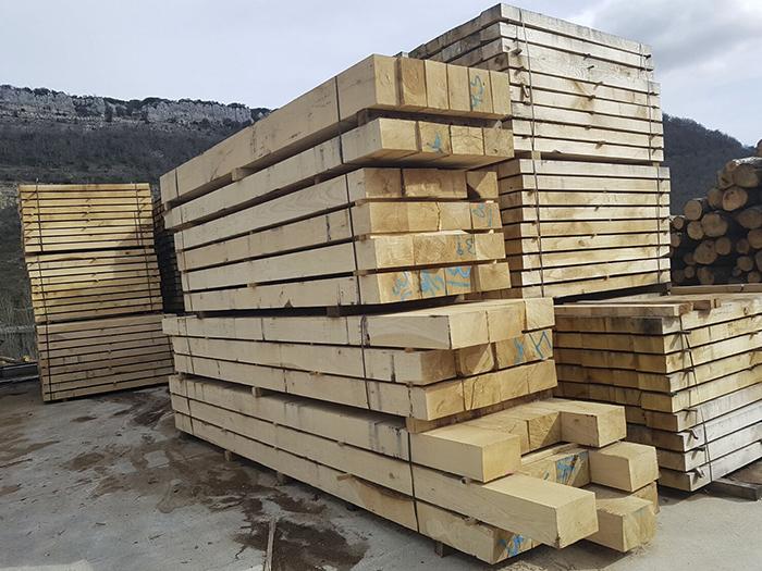 Traviesas de roble ecologicas - oak sleepers 1